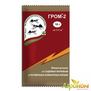 Гром-2 10 г (от муравьев, почвенными мушками и грибными комариками)