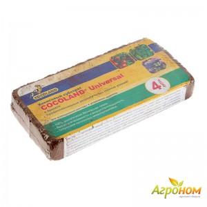 Кокосовый субстрат в брикетах COCOLAND Universal 4 л