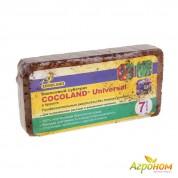 Кокосовый субстрат в брикетах COCOLAND Universal 7 л
