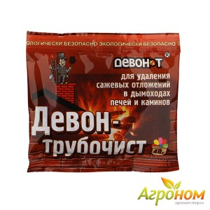 Девон-трубочист 40 г (Для удаления сажевых отложений в дымоходах печей и каминов)