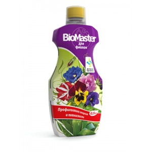 Органоминеральное удобрение «BioMaster Фиалка» 0,5 л