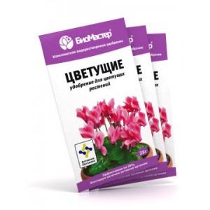 Комплексное удобрение- Цветущие растения 25 гр